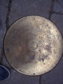 Duitse huls, 1917 Patronenfabrik  50 cm hoog, 10 cm diameter.