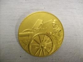 German medal 1936 Reichswehr, Wehrmacht shooting price. Duitse penning schietprijs vuurverguld top staat
