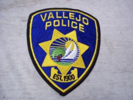 Badge, embleem Vallejo Police