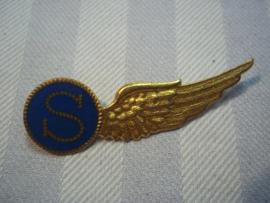 Dutch Navy Air Force wing. Nederlandse wing MLD Marine Luchtvaart Dienst. seiner
