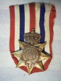 Nederlandse medaille Orde en Vrede, zonder jaarbalken.