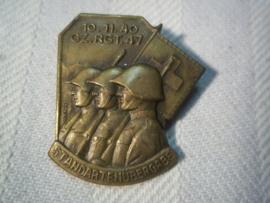 Swiss badge, Zwitsers embleem Standartenubergabe 19-10-1940  Gz.Rgt.47.