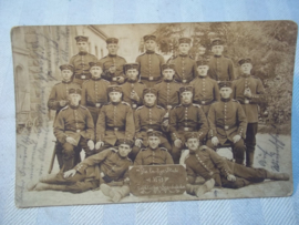 Duitse postkaart Hessen regiment.