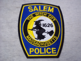Badge, embleem Salem Police Massachusetts.