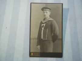 Foto matroos Duitse marine WO1