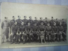 Foto- briefkaart Engels regiment WO2