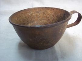 French drinkcup, Frans drinkbekertje behorende bij de bidon, goede bruikbare staat