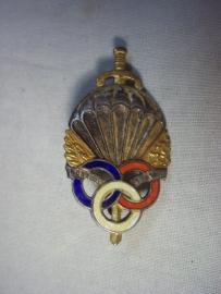 Franse borsthager para- regiment