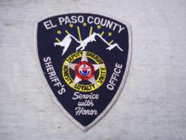 Badge, embleem El Paso County sheriff's office