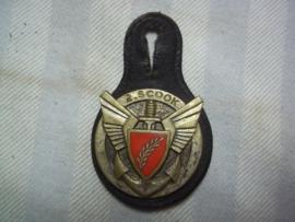 Borsthanger luchtmobiele marine afdeling 2. SCOOK