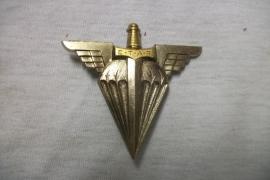 French para badge. Franse borsthanger E.T.A.P.