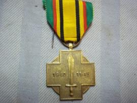 Belgische medaille dienst in Engeland. WO2