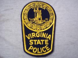 Badge embleem Virginia State Police.