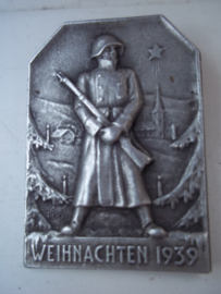 Swiss badge Weihnachten 1939. Zwitsers speldje 1939 Kerstmis.