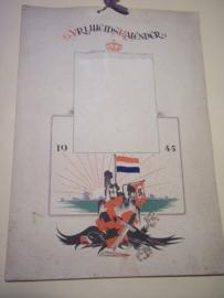 Bevrijdings kalender 1945, 2de druk, in de anonimiteit gemaakt