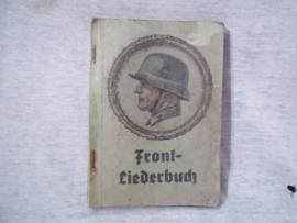 Duits Front Liederbuch met Widmung, van de bond van oudstrijders 1940- Stahlhelmbund.