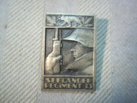 Swiss army badge seelander regiment 13. Zwitsers embleem.