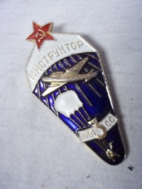 Russian jump wing instructor. Russische para wing instructeur
