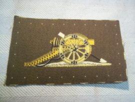 Engels kwalificatie embleem Royal Artillery.