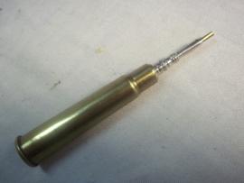 Kroontjes pen gemaakt van een geweer huls