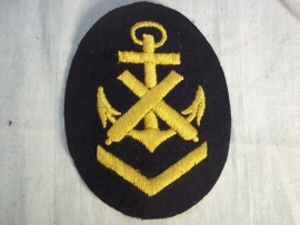 German Kriegsmarine Career badge. Kriegsmarine kwalificatie mouw embleem artillerie mechanieker