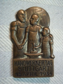 German tinnie, Handwerktag Stuttgart 15 April 1934