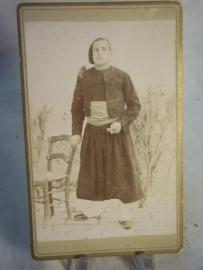 Photograph zouave soldier. Foto van een zouaaf.