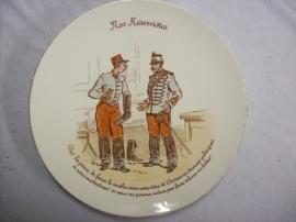 French reservist plate, Frans reservisten bordje Luneville