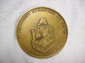 French medal 6e Regiment ettrangere de Genie,Franse penning Legioen,