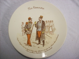 French reservist plate,Frans reservisten bord, Luneville