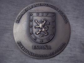 Penning Spaanse politie - interventieteam.