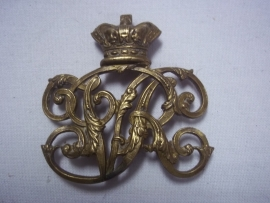 British badge for the Victorian Ammunition pouch. Engels embleem voor op de gibernetas.
