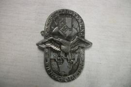 German Tinnie Reichs Kolonial Tagung Wien 1939. Duits speldje Koloniaal soldaten dag