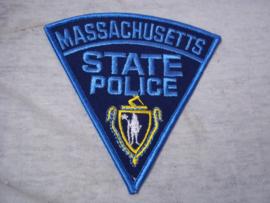 Badge, embleem Massachusetts State Police.