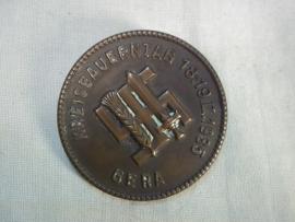 German tinnie Kreisbauerntag 1935, GERA, Duitse tinnie Reichsnahrstand, Gera.