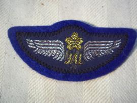 Pilot wing, Japanese Airlines JAL. Japanse piloten wing JAL, met kliksysteem