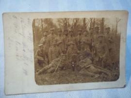 Duitse postkaart Pruisisch Infanterie regiment 98 - 12e Kompagnie
