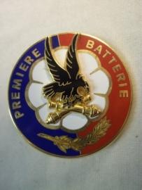 Frans para embleem 1e batterij para artillerie