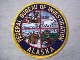 Badge, embleem FBI Alaska
