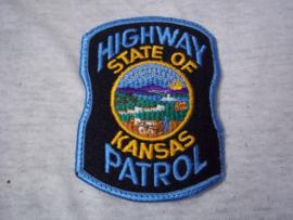Badge, embleem, HIGHWAY PATROL State of Kansas