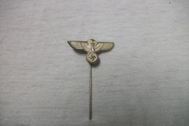 German wehrmacht pin. ges gesch. Duits graagspeldje Wehrmacht adelaar. gestempeld