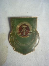 East- Germany badge good soldier bordertroops. NVA embleem kwalificatie Grenztroepen