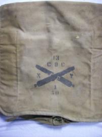 US backpack, Rock Island Arsenal, 1904-1905 Artillery, Amerikaanse rugzak vroeg model