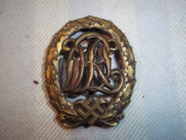 German sport badge regular army, Duits sportembleem Wehrmacht, mooi gemarkeerd