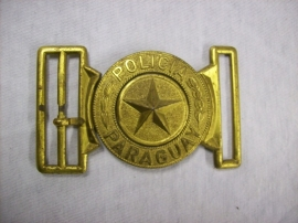 Buckle of the POLICIA PARAQUAY