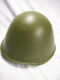 Russian helmet fifties. Russische helm uit de jaren 50 een hoog model,