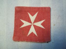 Mouwembleem gedrukt MALTA army.