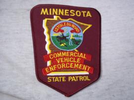 Badge, embleem State Patrol  Minnesota.