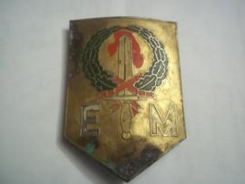 Nerherlands- Indies metal sleeve badge Nederlands mouwschildje 7 december divisie expeditionaire macht