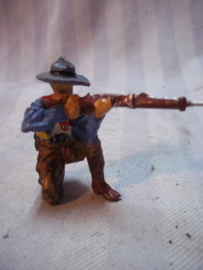 Elastolin, Durso, Lineol cowboy, knielend met geweer